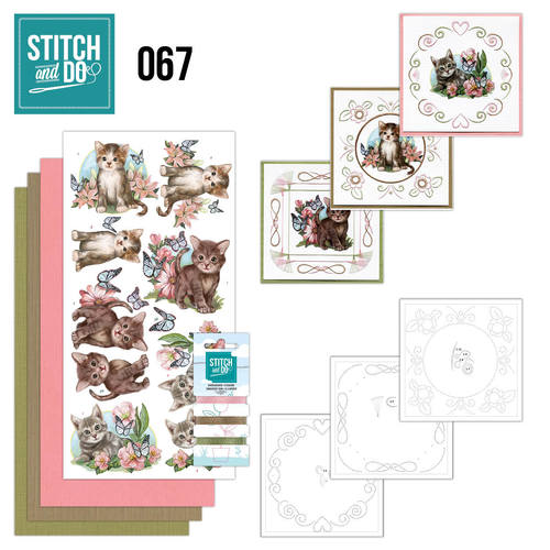 Stitch and Do 67 - Cats / Katten / Poezen - STDO067