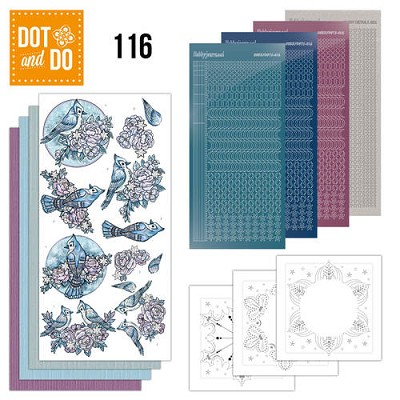 Hobbydots - Dot en Do Set 116 - Yvonne - Winter - Dodo116