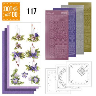Hobbydots - Dot en Do Set 117 - Precious Marieke - Christmas - Dodo117