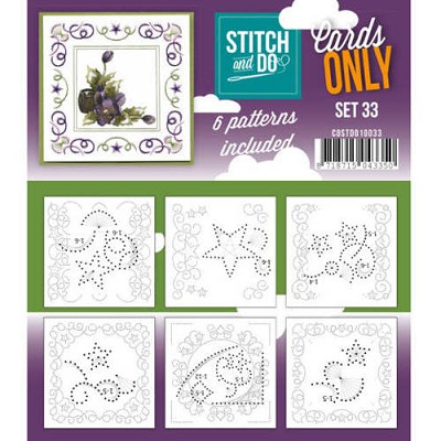 Stitch & Do - Cards only - Set 33 - Costdo10033
