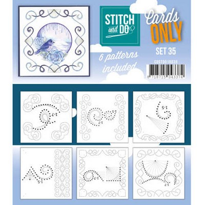Stitch & Do - Cards only - Set 35 - Costdo10035