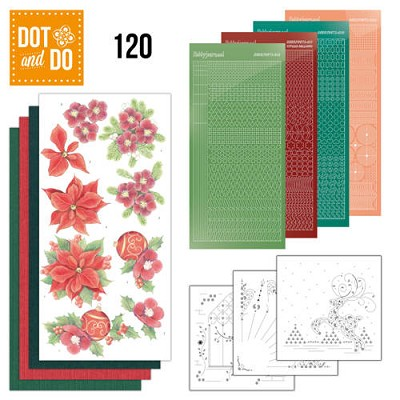 Dot and Do 120 - Kerstbloemen - Jeanine`s Art - Dodo120
