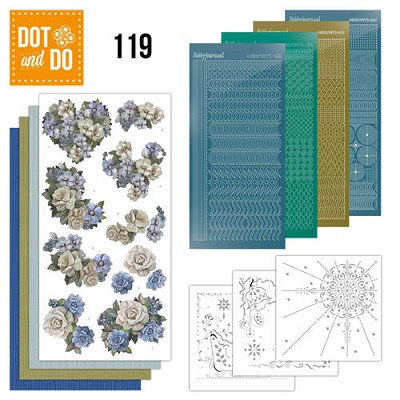 Hobbydots - Dot and Do 119 - Vintage Winter - Amy Design - Dodo119