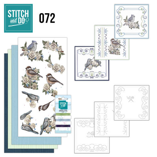 Stitch and Do 72 - Amy Design - Vintage Winter - Stdo072