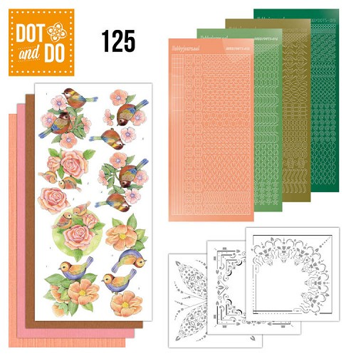 Hobbydots - Dot and Do 125 - Birds - Dodo125