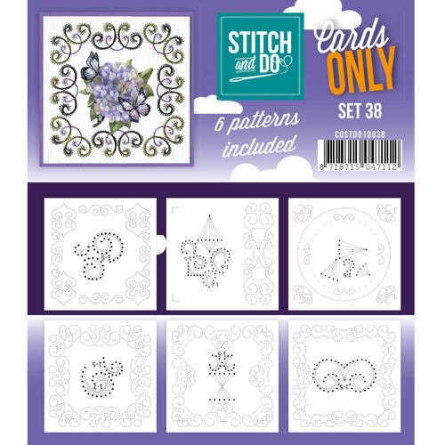 Stitch & Do - Cards only - Set 38 - Costdo10038