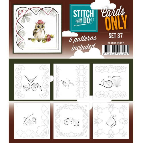 Stitch & Do - Cards only - Set 37 - Costdo10037