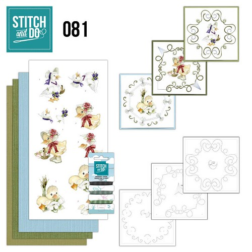 Stitch and Do 81 - Voorjaarsdieren - Stdo081