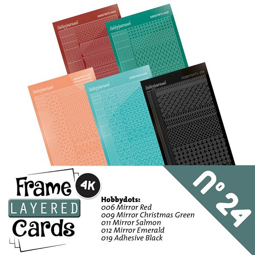Frame Layered Cards 24 - Stickerset - LCST024