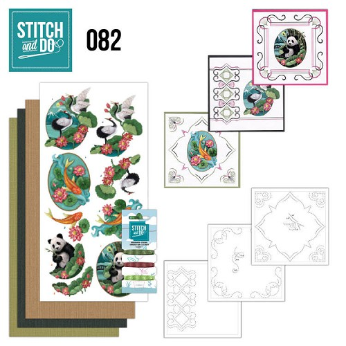 Stitch and Do 82 - Oriental - Stdo082