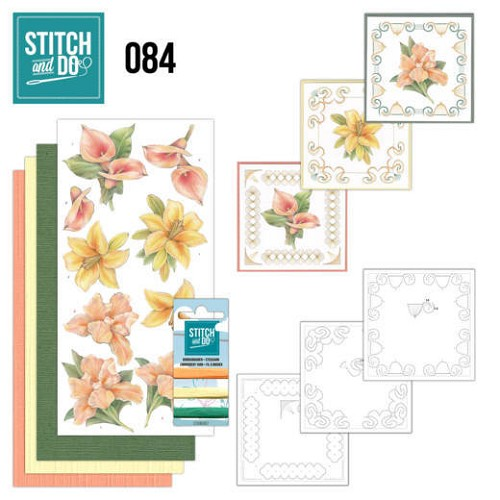 Stitch and Do 84 - Yellow Flowers - Stdo084