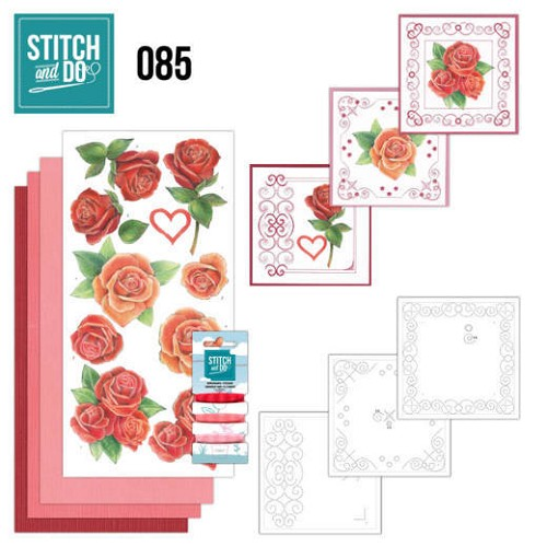 Stitch and Do 85 - Roses - Stdo085
