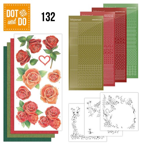 Hobbydots - Dot and Do 132 - Roses - Dodo132