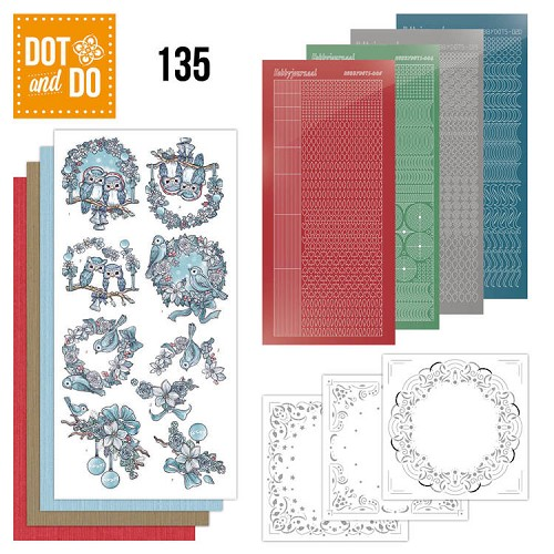 Hobbydots - Dot and Do 135 - Christmas Dreams - Dodo135