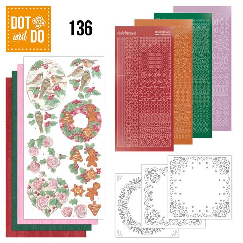 Hobbydots - Dot and Do 136 - Christmas Florals - Dodo136