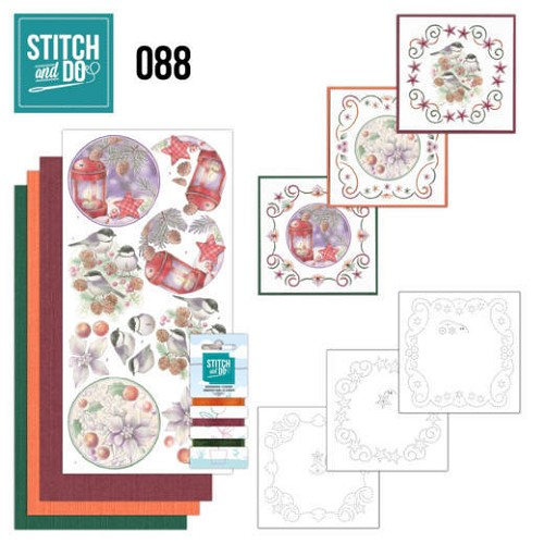 Stitch and Do 88 - Christmas Florals - Stdo088