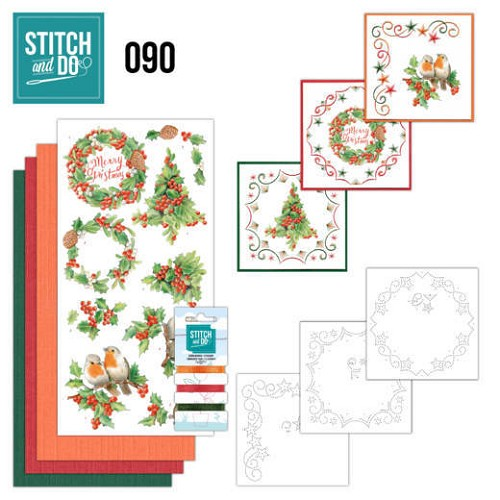 Stitch and Do 90 - Merry Christmas - Stdo090