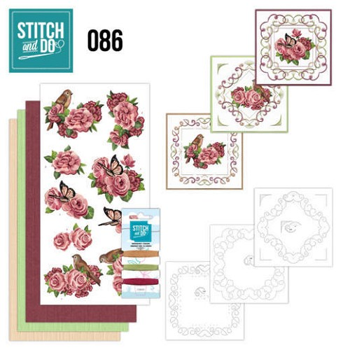 Stitch and Do 86 - Birds and Roses - Stdo086