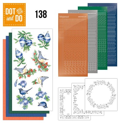 Dot and Do 138 Blue Christmas - DODO138