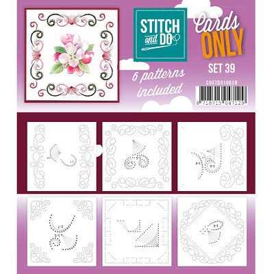 Cards only Stitch 39 - COSTDO10039