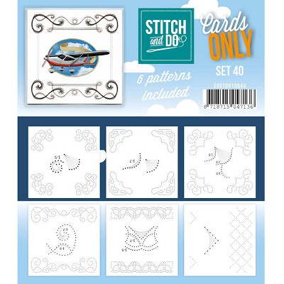 Cards only Stitch 40 - COSTDO10040