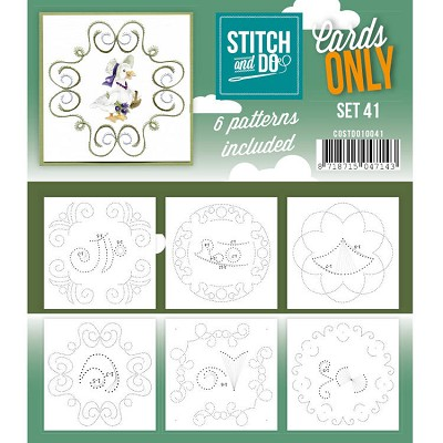 Cards only Stitch 41 - COSTDO10041