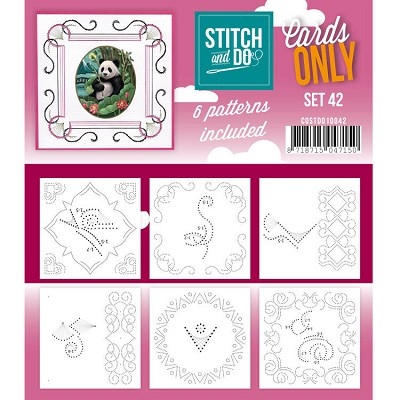 Cards only Stitch 42 - COSTDO10042