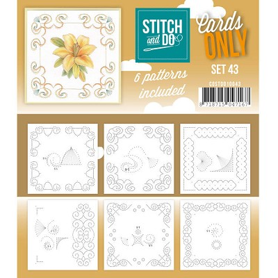Cards only Stitch 43 - COSTDO10043