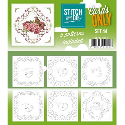 Cards only Stitch 44 - COSTDO10044