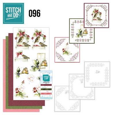 Stitch and Do 96 - Winter Birds - STDO096