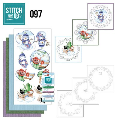 Stitch and Do 97 - Warm Winter - STDO097