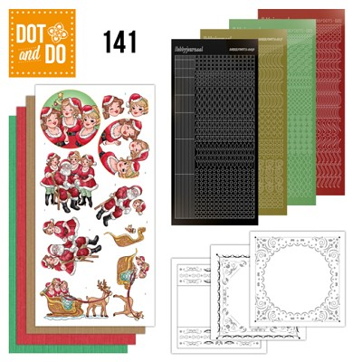 Hobbydots - Dot and Do 141 - Bubbly Girls Xmas - Dodo141