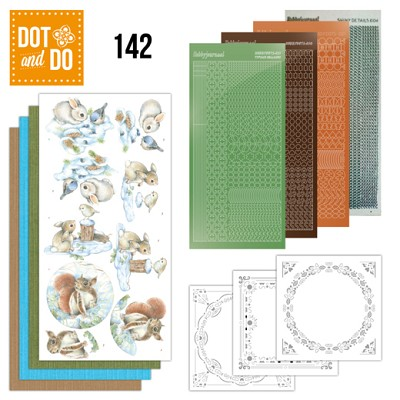 Hobbydots - Dot and Do 142 - Winter Woodland - Dodo142