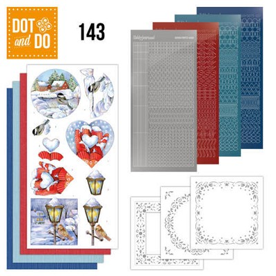 Hobbydots - Dot and Do 143 - Winter Scenes - Dodo143