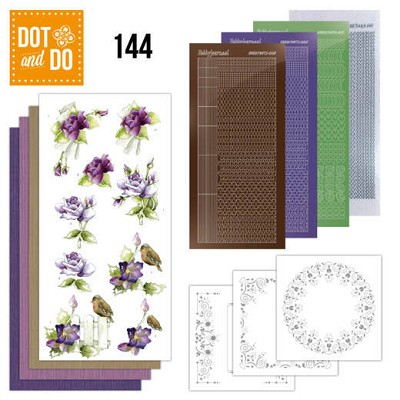 Hobbydots - Dot and Do 144 - Roses - Dodo144
