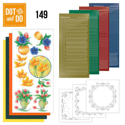Hobbydots - Dot and Do 149 - Bouquet of Flowers - Dodo149