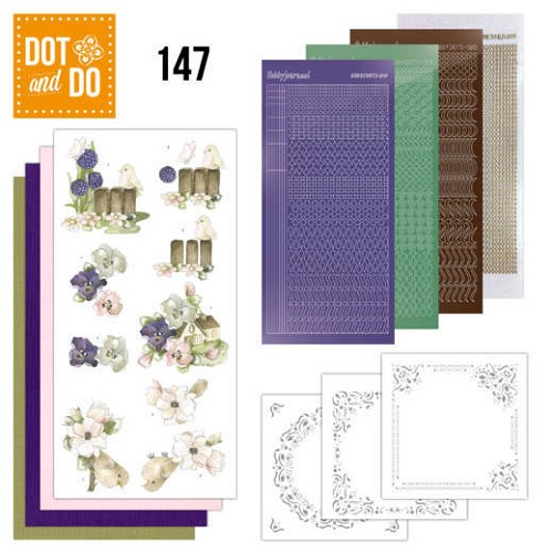 Hobbydots - Dot and Do 147 - Happy Spring - Dodo147