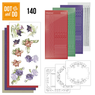 Hobbydots - Dot en Do 140 - Winter Flowers - Dodo140