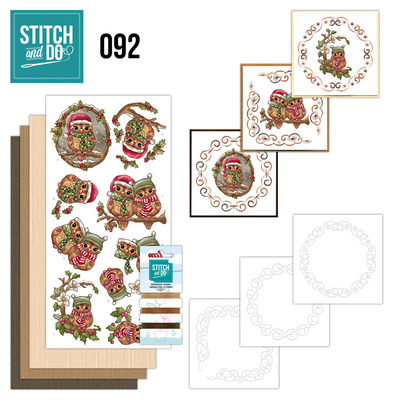 Stitch and Do 92 - Christmas Owls - Stdo092