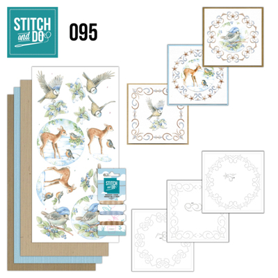 Stitch and Do 95 - Winter Woodland - Stdo095