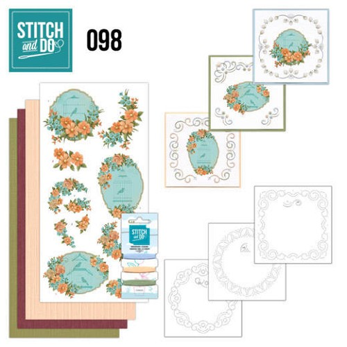 Stitch and Do 98 - Floral Birdcages - Stdo098