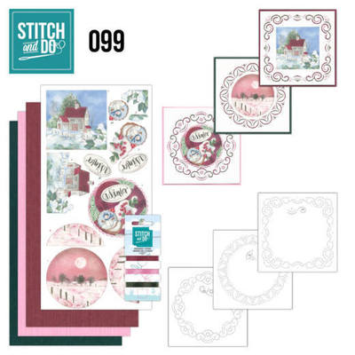 Stitch and Do 99 - Winter Night - STDO099