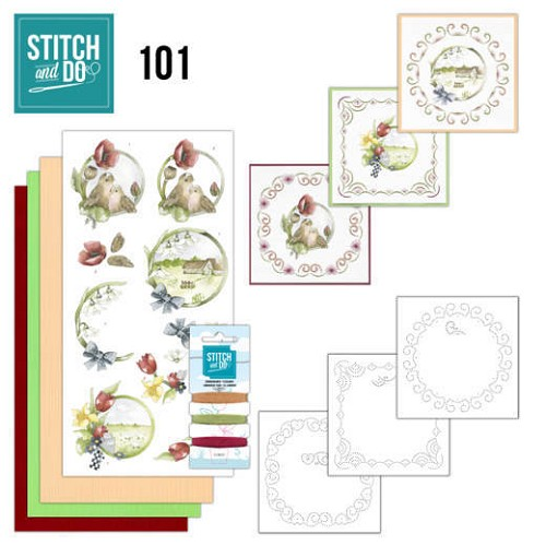 Stitch and Do 101 - Spring Life - STDO101