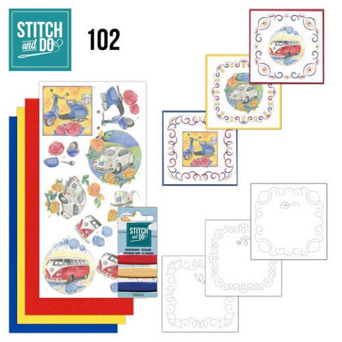 Stitch and Do 102 - Oldtimers - STDO102
