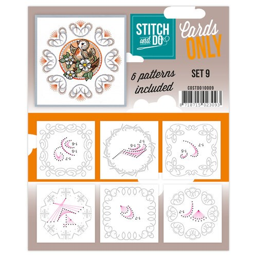 Stitch & Do - Cards only - Set 9 - COSTDO10009