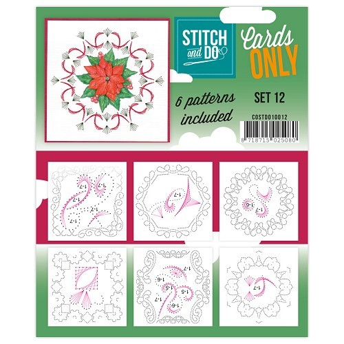Stitch & Do - Cards only - Set 12 - COSTDO10012