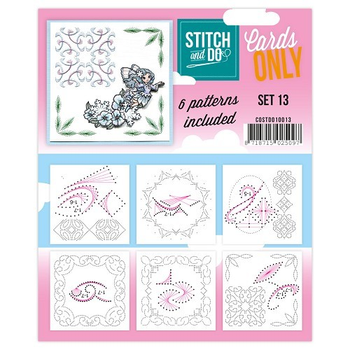 Stitch & Do - Cards only - Set 13 - COSTDO10013