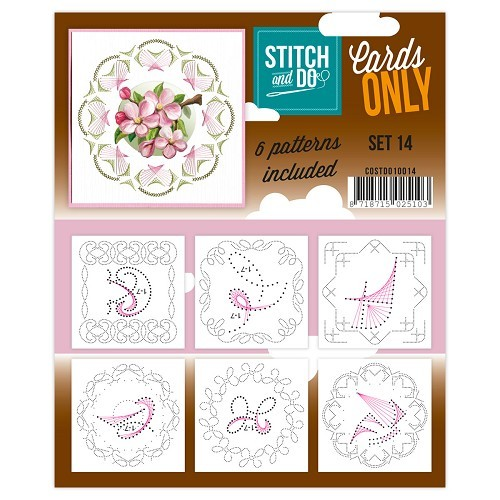 Stitch & Do - Cards only - Set 14 - COSTDO10014