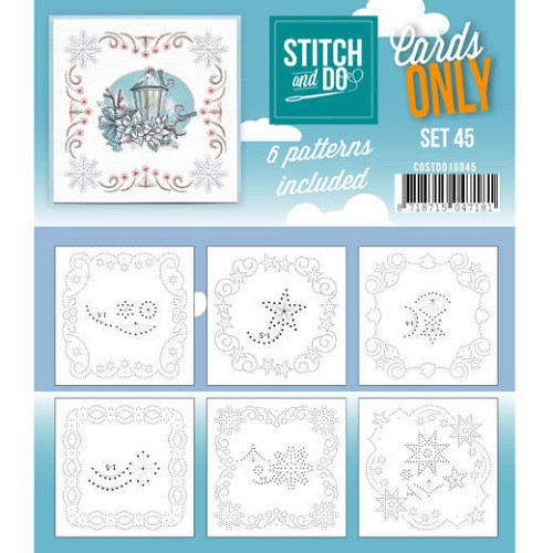 Stitch & Do - Cards Only - Set 45 - COSTDO10045
