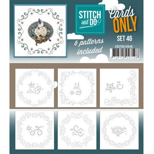 Stitch & Do - Cards Only - Set 46 - COSTDO10046
